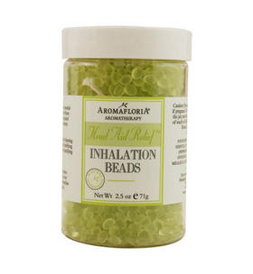 Aromafloria - Inhalation Beads Blend Of Tea Tree Rosemary And