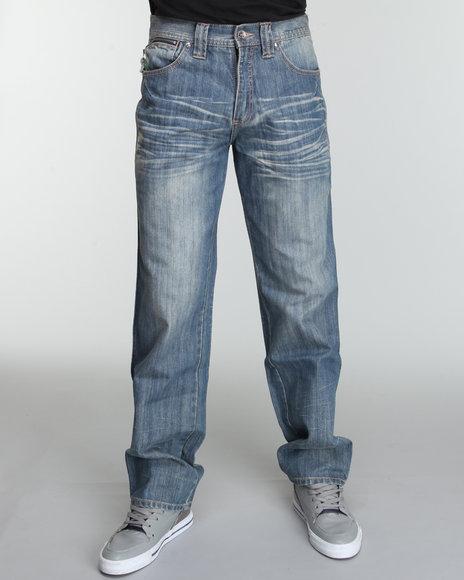 Pelle Pelle Men Bello Pocket Denim Jeans