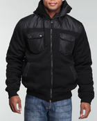 Men - Military fleece w/mix fabric