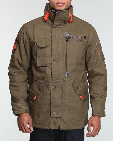 roc camo canvas jacket