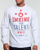 IMKING - All-Stars Crewneck Pullover Sweatshirt