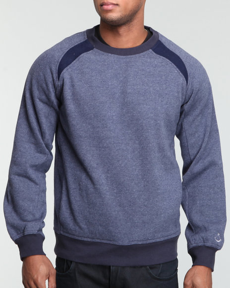 Blvck Scvle Men Blue Cayman Sweatshirt