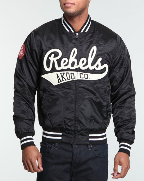 Akoo Men Rebels Varsity Jacket - Outerwear