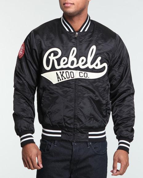 Akoo Men Rebels Varsity Jacket - Outerwear