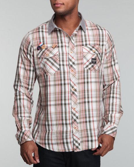 Akoo Men Soul L/s Button-down - Shirts