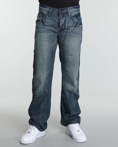 Enyce Men Medium Wash Crowbar Jeans