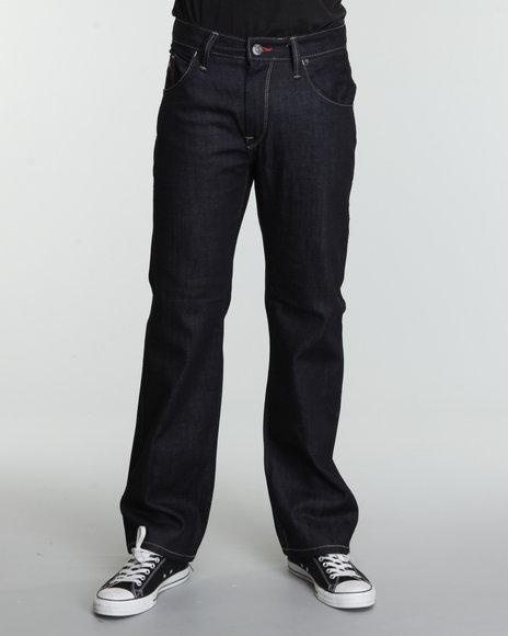 Enyce Men Dark Wash Crowbar Jeans