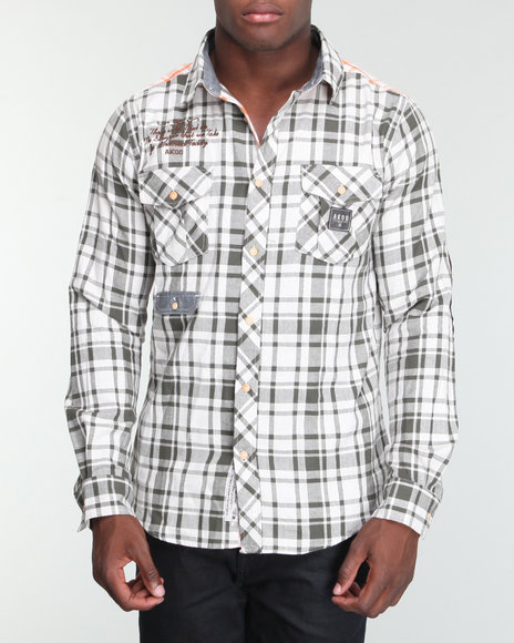Akoo Men Caliber L/s Button-down - Shirts