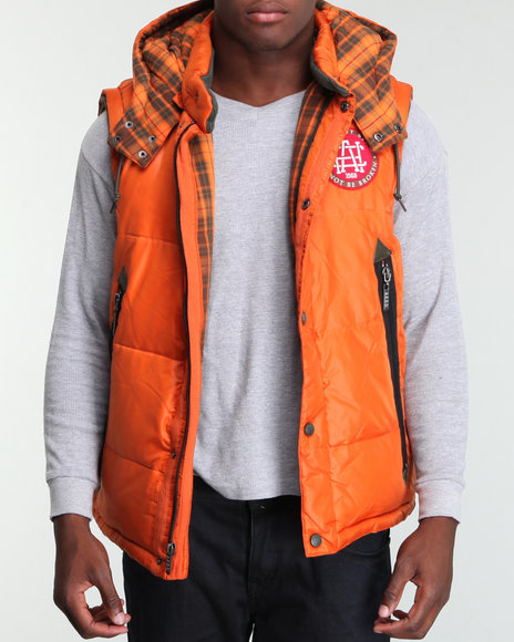 Akoo Men Streetrally Down Vest - Outerwear
