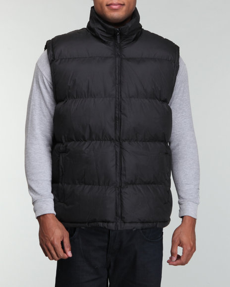 polar fleece lined vest
