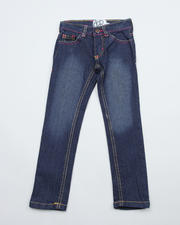 Girls - Zebra Pocket Jean (4-6X)