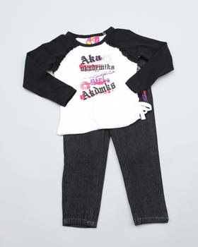 Akademiks - 2 PC SET - TOP & JEANS (INFANT)