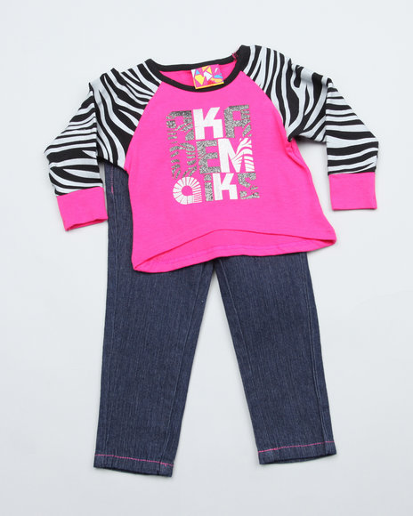 2 pc set - top & jeans (infant)