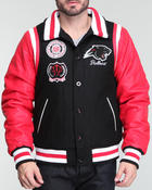 Tradition - Clark Atlanta Mascot Varsity Jacket