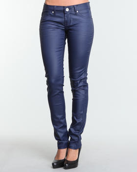 Basic Essentials - Eliza Coated Twill Jeans