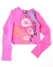 4-6X Little Girls - Emma Long Sleeve Tee (4-6X)