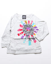 Girls - Justina Raglan Long Sleeve Tee (4-6X)