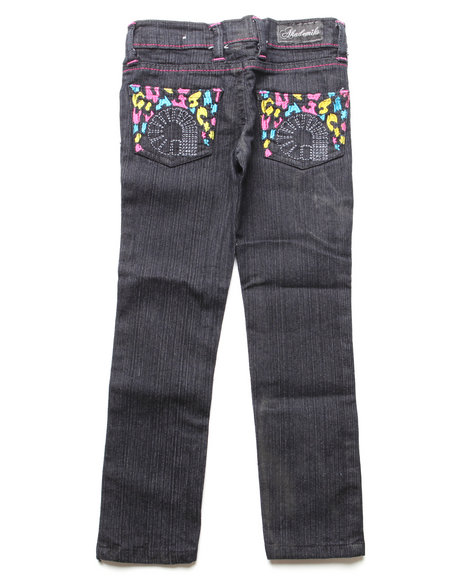 - Leopard Pocket Jean (4-6X)