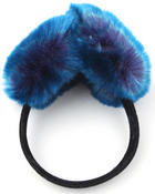 Misc. - Faux Fur EarMuffs w/velvet band