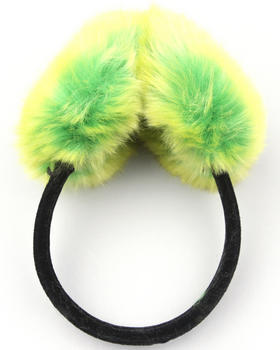 Fashion Lab - Faux Fur EarMuffs w/velvet band