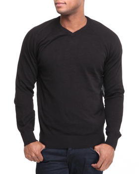 Basic Essentials - Legacy Vneck 100% Cotton Sweater
