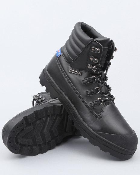 COOGI Men Black Kombat Rugged Boots