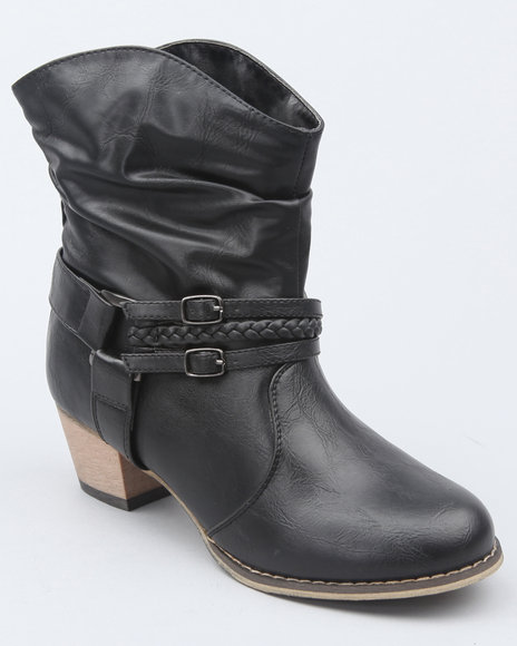 basic western ankle boot