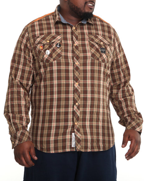 Akoo Men History L/s Button-down - Shirts