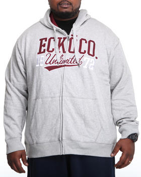 Ecko - Long Sleeve Arm Down Logo Hoodie (B&T)