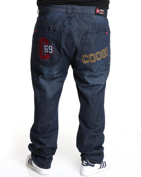 COOGI Men Coogi Logo Back Pocket Denim Jeans