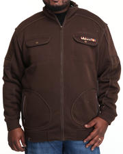 Big & Tall - Private Ryan Military Fleece Jacket (B&T)