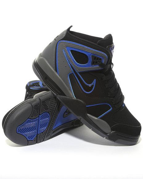 Nike Men Black Nike Air Flight Falcon Sneakers