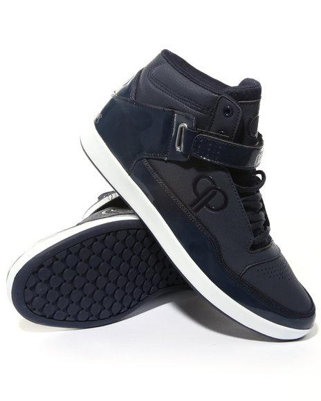 Pelle Pelle Men Navy Pelle Pointguard Sneaker