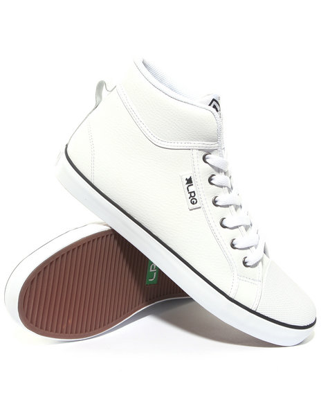 Lrg Men White Linden Vulc Mid
