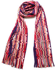 Accessories - Red Wool Scarf