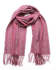 Accessories - Red Squiggle Scarf