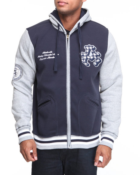 - A Plus Fleece Full Zip Hoodie