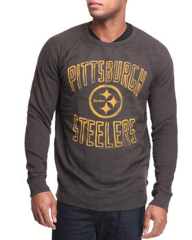 Junk Food - Pittsburgh Steelers fleece crew