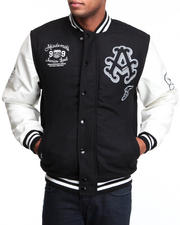 Outerwear - Thompson Wool Blend Varsity Jacket