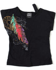 4-6X Little Girls - Feather Majestic Tee (4-6X)