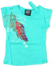 Girls - Feather Majestic Tee (4-6X)