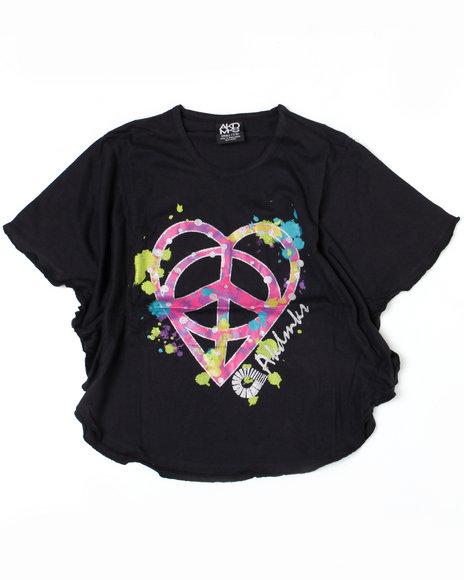 - Peace Love Circle Tee