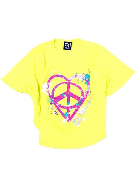 - Peace Love Circle Tee (7-16)