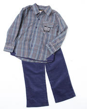 Outfits & Sets - Conservative 3pc Set (2T-4T)