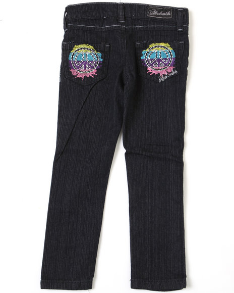 - Peace Squared Jean (4-6X)