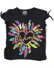 Short-Sleeve - Feather Love Tee (4-6X)