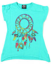 Short-Sleeve - Feather Dream Catcher Tee (7-16)
