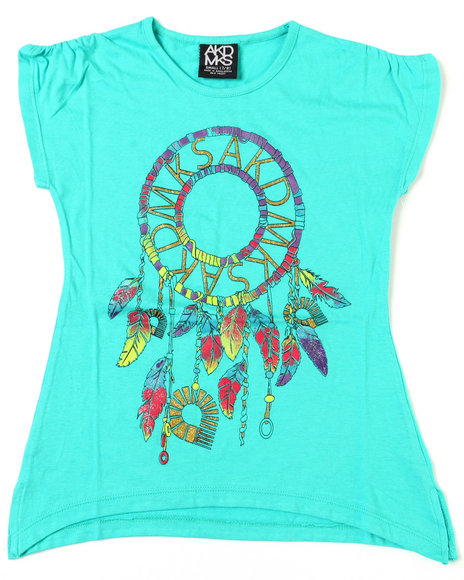 - Feather Dream Catcher Tee (7-16)