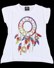 Girls - Feather Dream Catcher Tee (7-16)