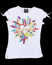Short-Sleeve - Feather Love Tee (7-16)